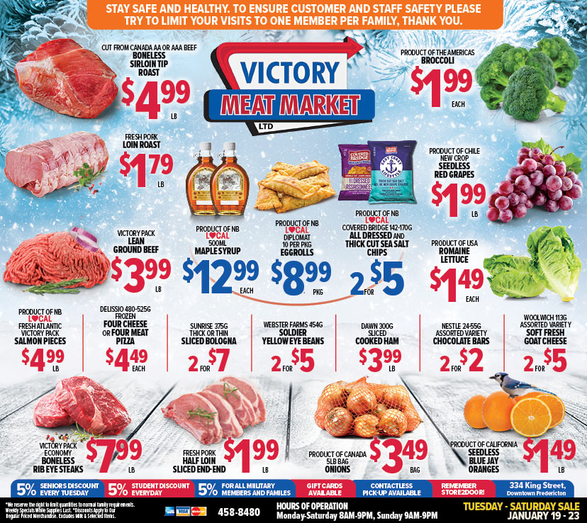 Victory Meat Market Weekly Flyer